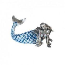 Figura Resina Sirena 24 cm