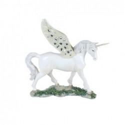 Figura Resina Unicornio 26 cm