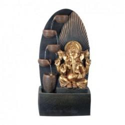 Fuente Agua Ganesha Resina 70 cm