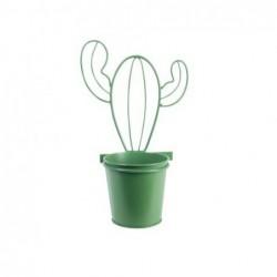 Maceta Colgante Metalica Cactus 29 cm