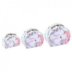 Maleta Set 3 Unidades Unicornio 22 cm