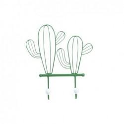 Percha Pared Metal Cactus 29 cm