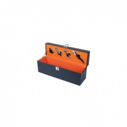 Caja 4 Accesorios Vino 35 cm