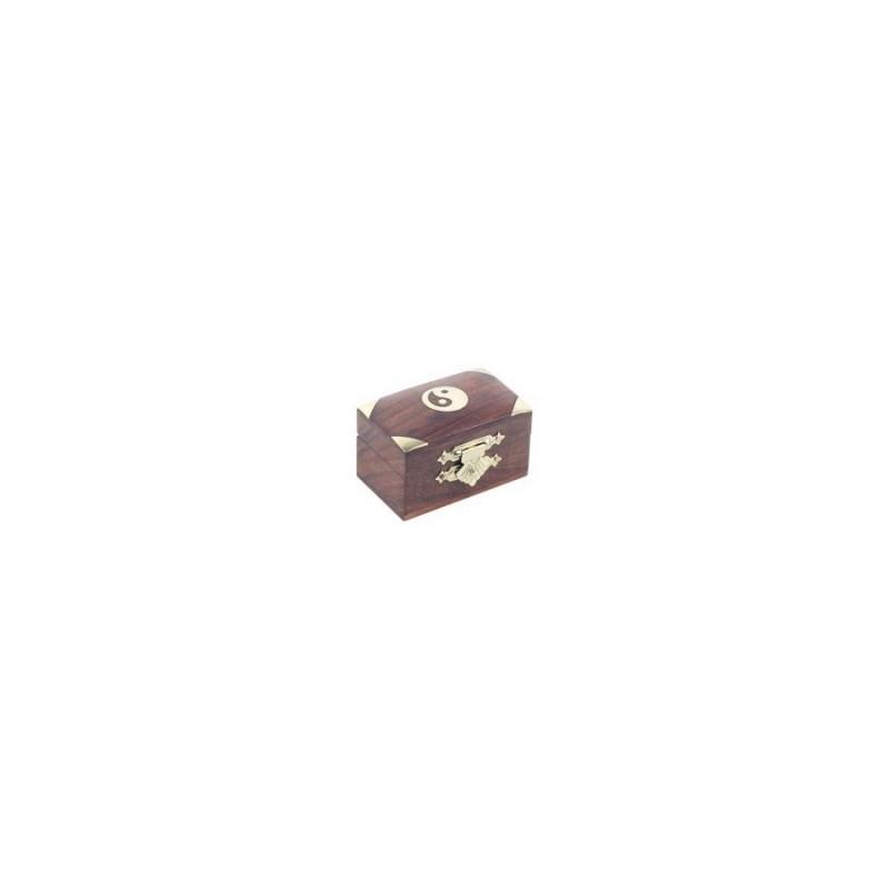 Caja Madera Decorada 6 cm
