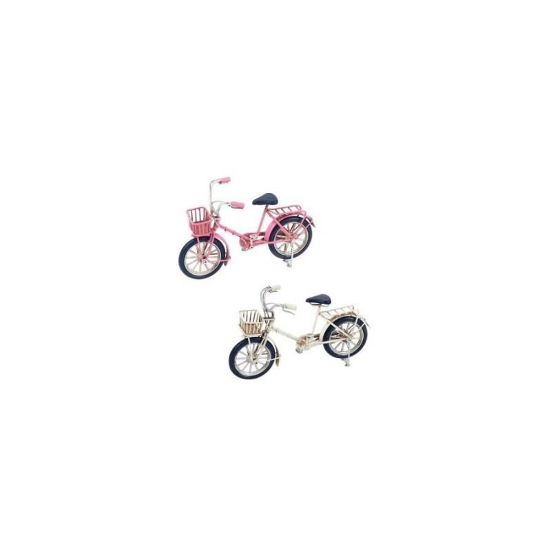 Figura Bicicleta x2 Colores 15 cm
