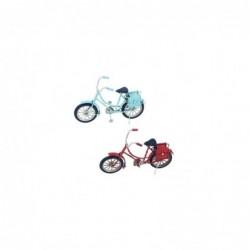 Figura Bicicleta x2 Colores 16 cm
