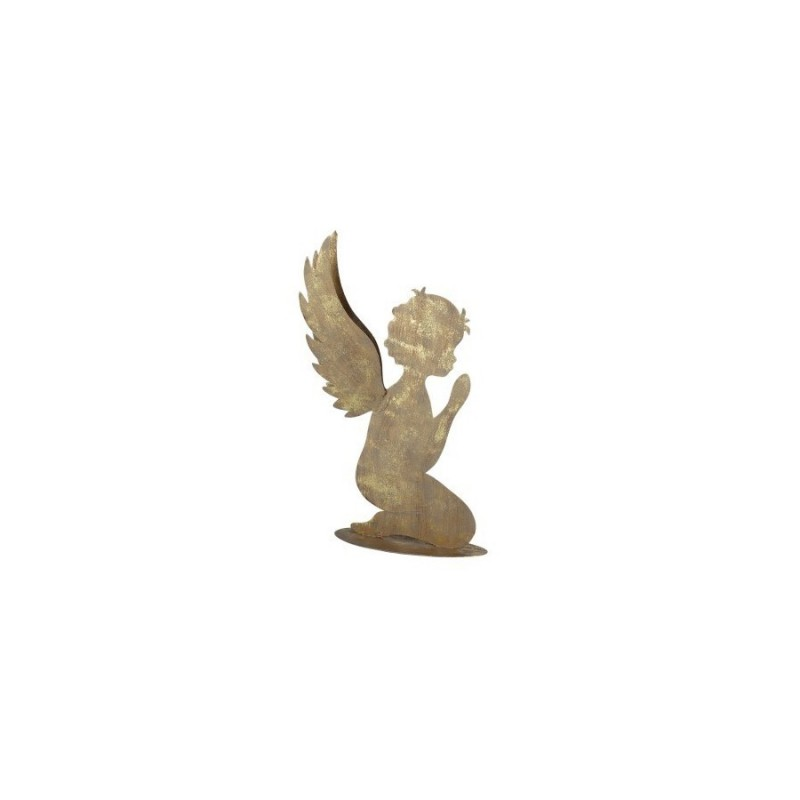 Figura Decorativa Angel Metal 31 cm