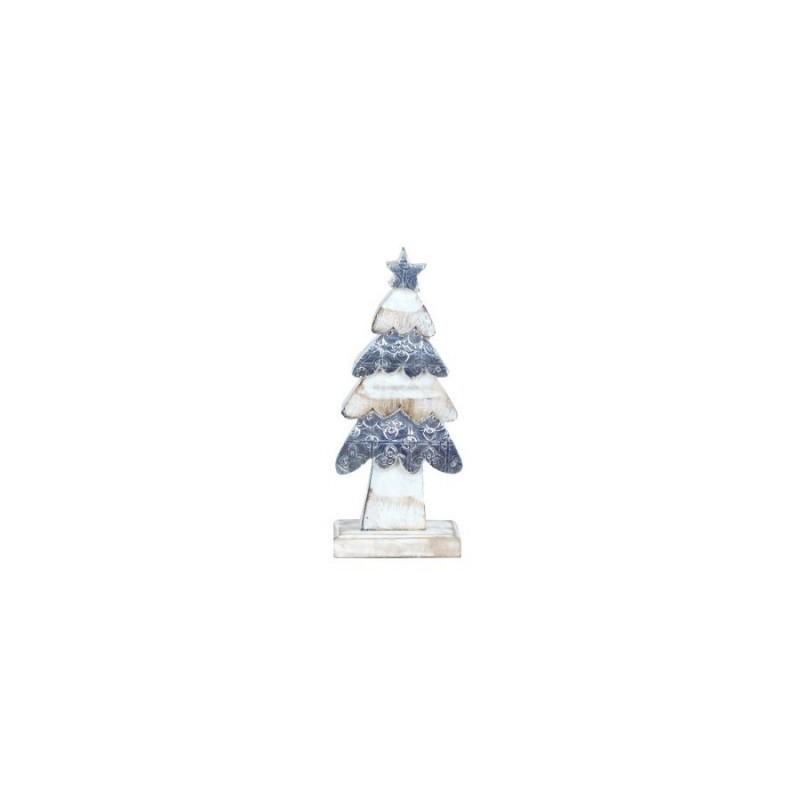 Figura Decorativa Arbol Navidad 20 cm