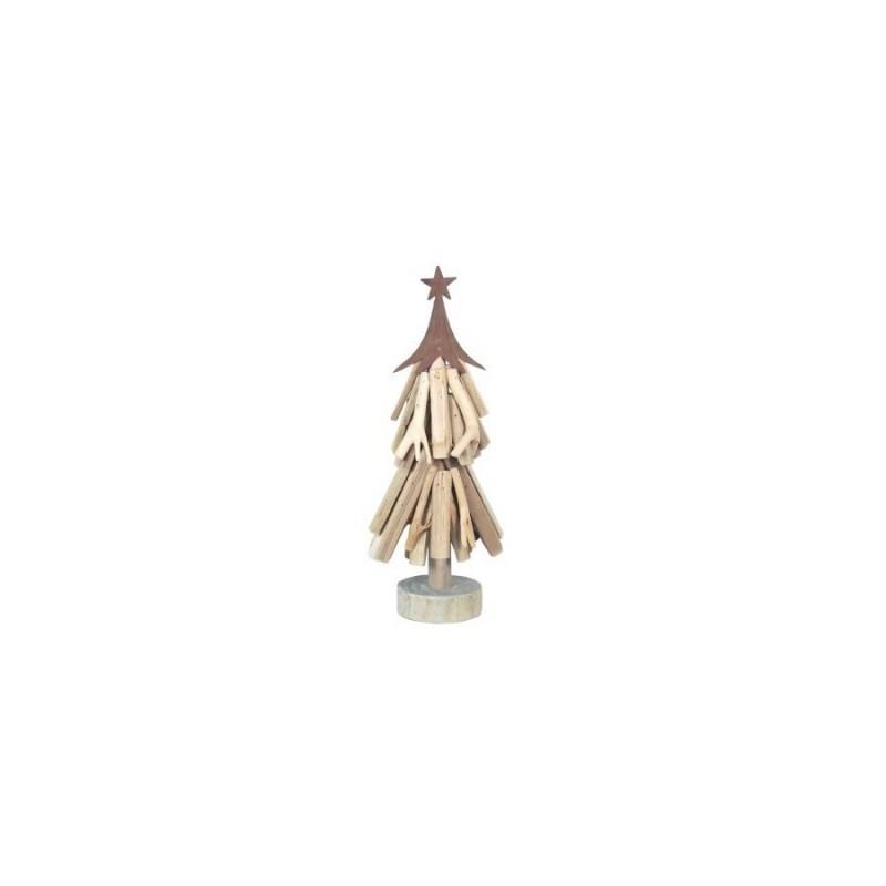 Figura Decorativa Arbol Navidad 40 cm