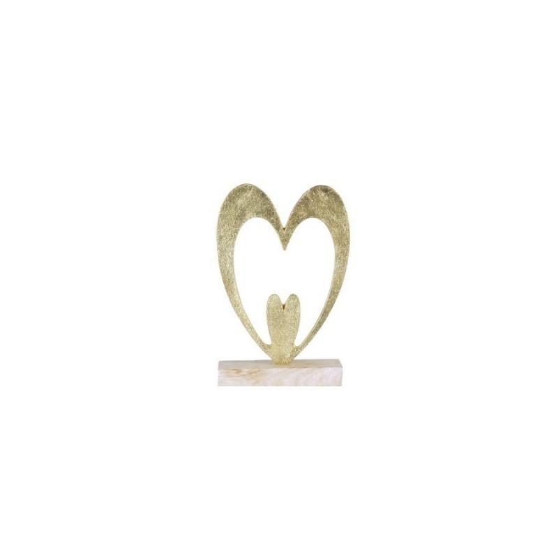 Figura Decorativa Corazon 20 cm