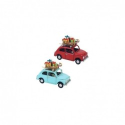 Figura Metal x2 coches 15 cm