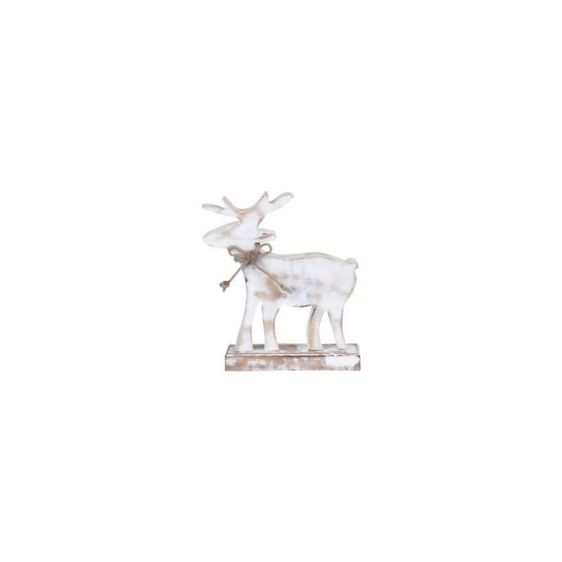 Figura Reno Madera 20 cm