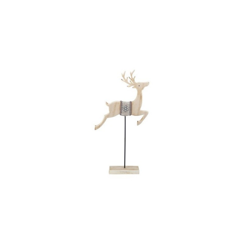 Figura Reno Madera 39 cm