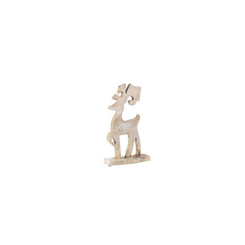 Figura Reno Madera 41 cm