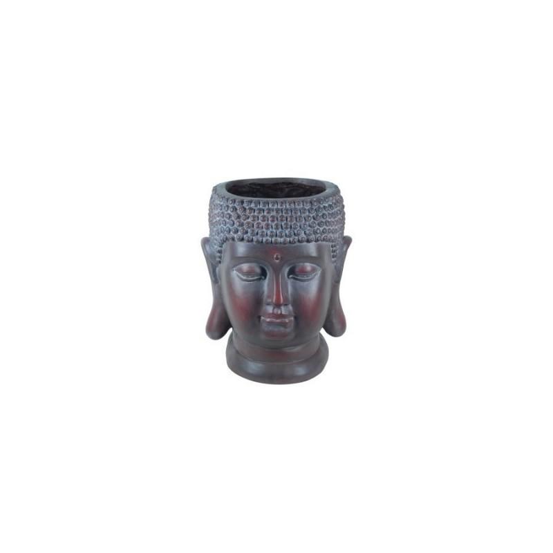 Figura Resina Cabeza Buda 41 cm