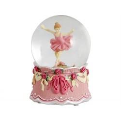 Bola Musical Bailarina Rosa 16 cm 17920MD