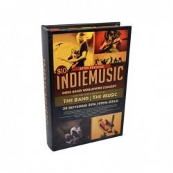 LIBRO-CAJA FUERTE INDIE MUSIC 16x5x24cm