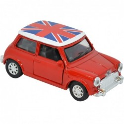 MINI COOPER ROJO UK ESCALA 1:32 L: 8CM