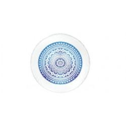 Toalla pareo fabricado en 100% algodón con forma redonda Mandala