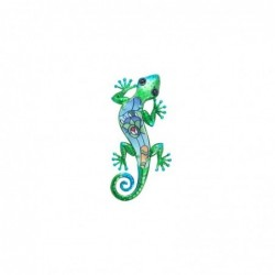 Adorno Decorativo Pared Lagarto Metal 30 cm