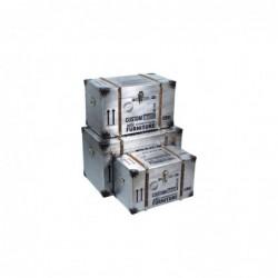 Baul Set 3 Unidades DM Retro 68 cm