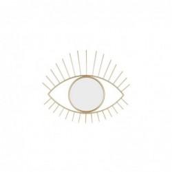 Espejo Decorativo de Pared Ojo Metal 70 cm