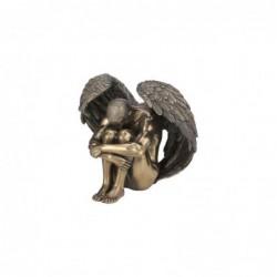 Figura Decorativa Angel Desnudo Resina 14 cm
