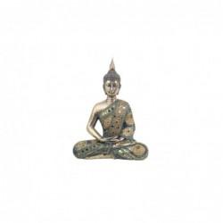 Figura Decorativa Buda Resina 28 cm