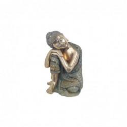 Figura Decorativa Buda Resina 35 cm