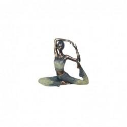 Figura Decorativa Clasica Chica Yoga Resina 34 cm