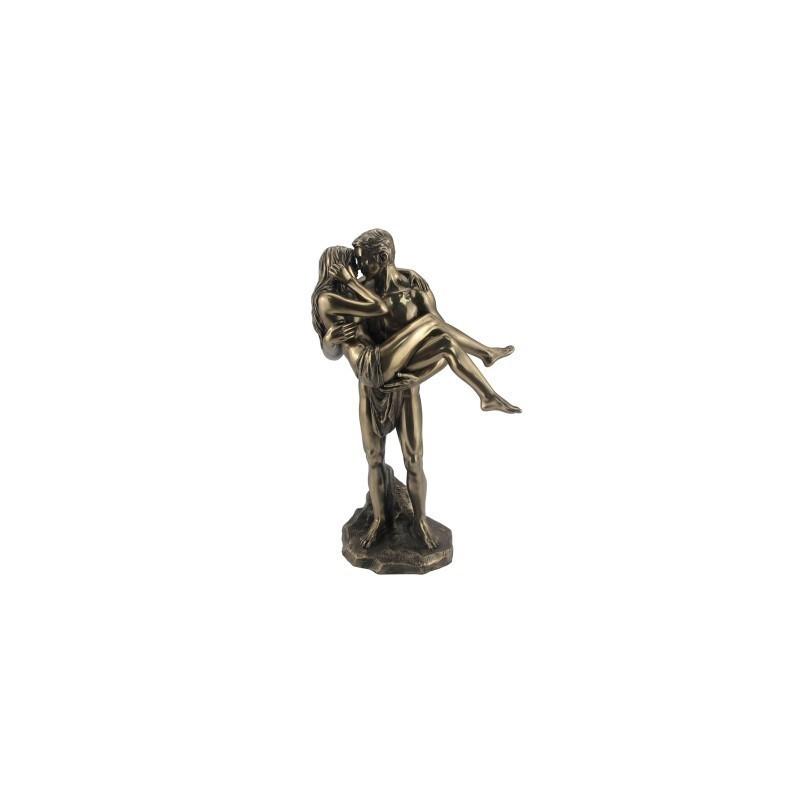 Figura Decorativa Clasica Los Amantes Resina 28 cm