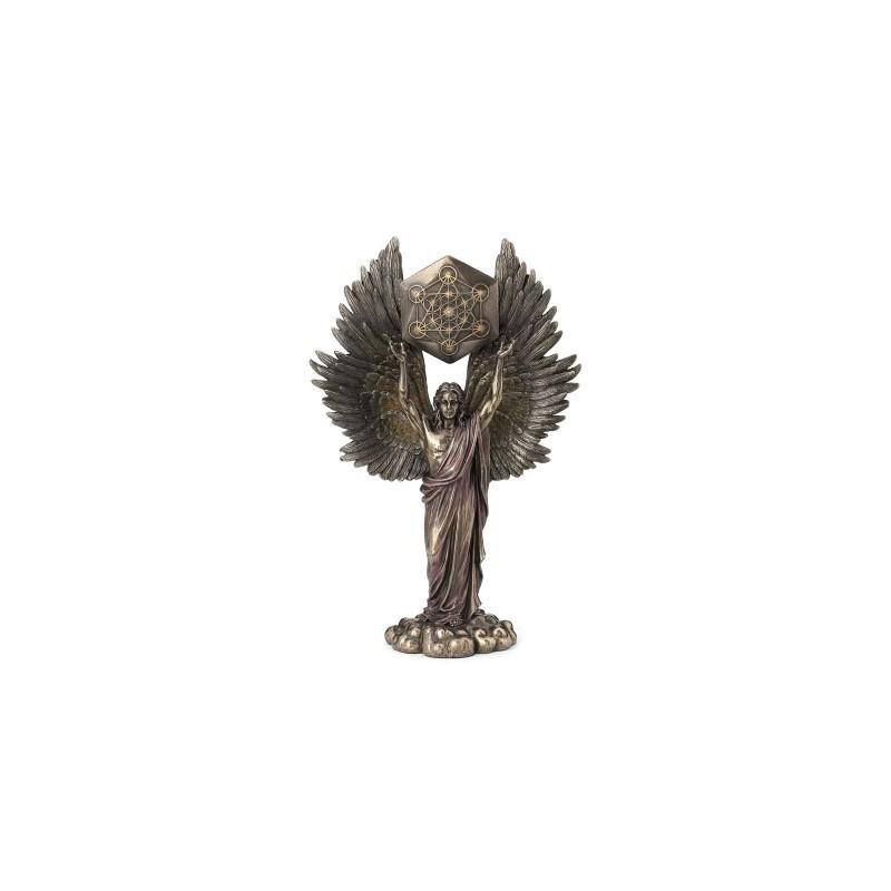 Figura Decorativa Clasica Metatron Resina 34 cm