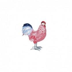 Figura Decorativa Gallina Resina 26 cm