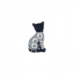 Figura Decorativa Gato Resina 19 cm