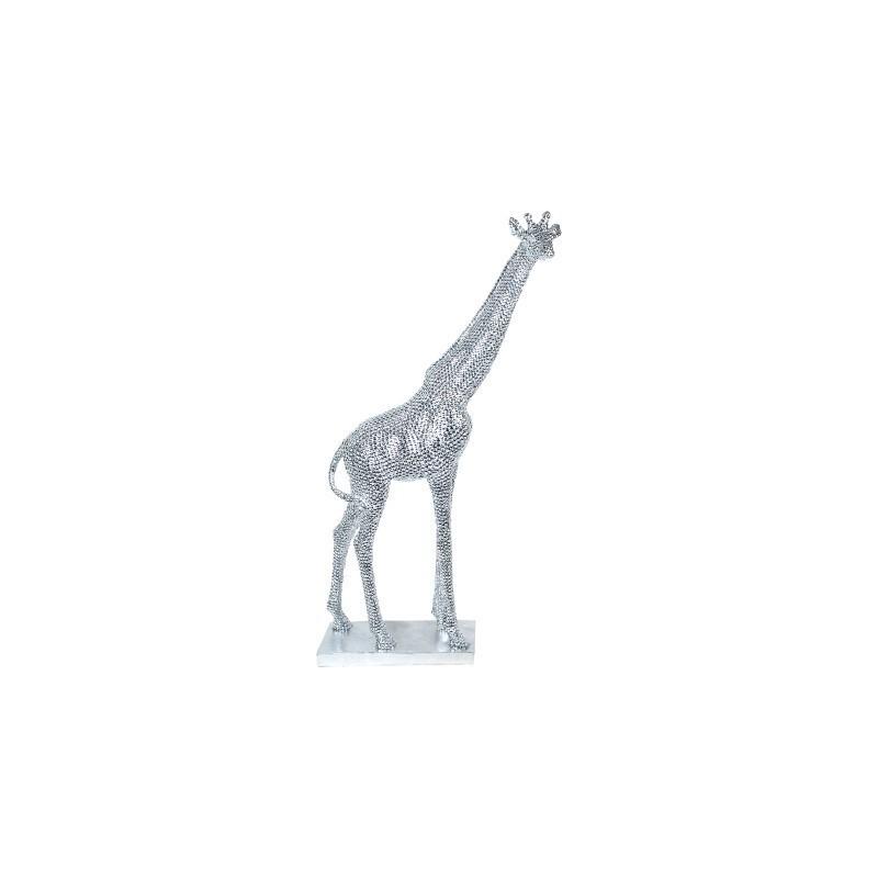Figura Decorativa Jirafa Resina 69 cm