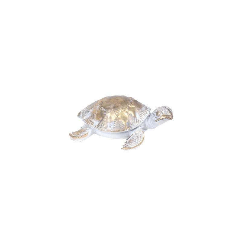 Figura Decorativa Tortuga Resina 13 cm