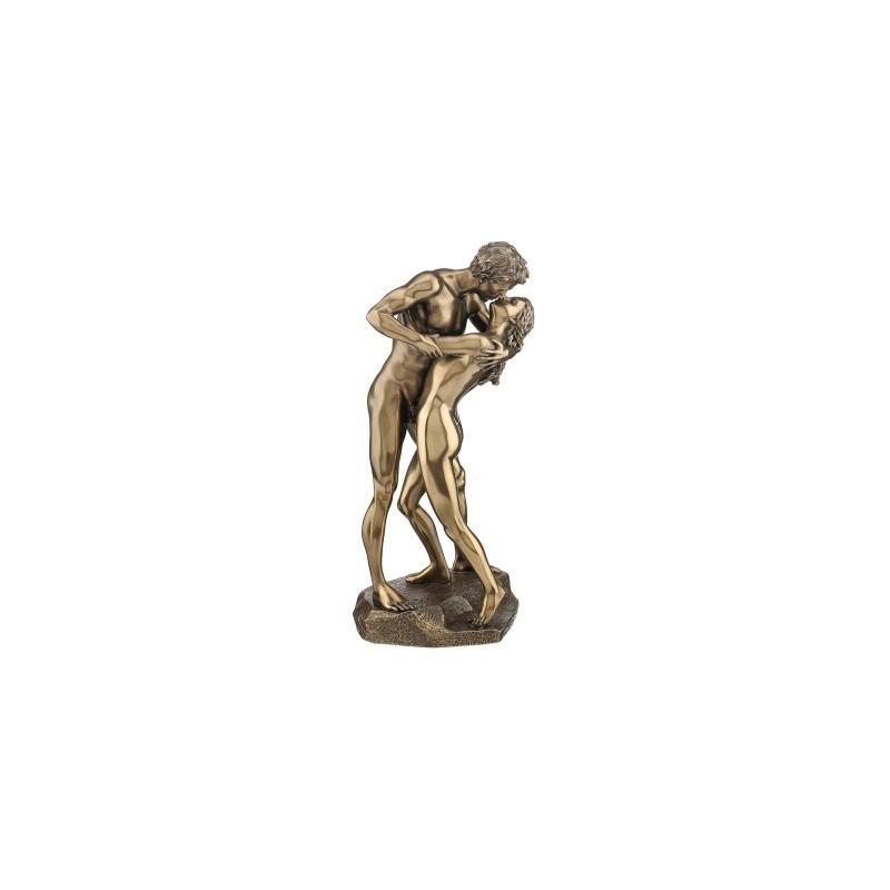 Figura Resina Clasica Hombre Mujer EL BESO 28 cm
