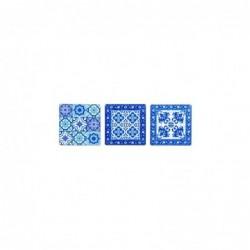 Iman de Nevera x3 Mosaico 6 cm
