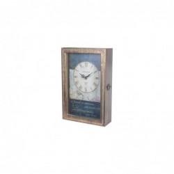Llavero Pared con Reloj DM 33 cm