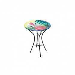 Mesa Auxiliar Pedestal Flamingo 60 cm