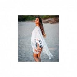 Poncho Mujer Talla Unica Algod—n 90x50 cm