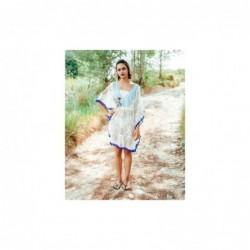 Poncho Mujer Talla Unica Algod—n 90x95 cm