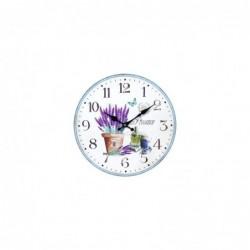 Reloj de Pared Vintage Lavanda DM 34 cm