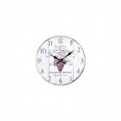 Reloj de Pared Vintage Vino DM 34 cm