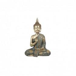 Figura Decorativa Buda Resina 40 cm