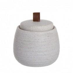 Algodonera Ceramica blanca 10 cm