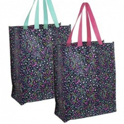 Bolsa Compra x2 Colores 40 cm