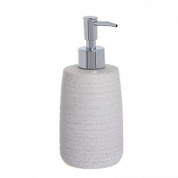Dosificador Jabon Ceramica Blanco 17 cm