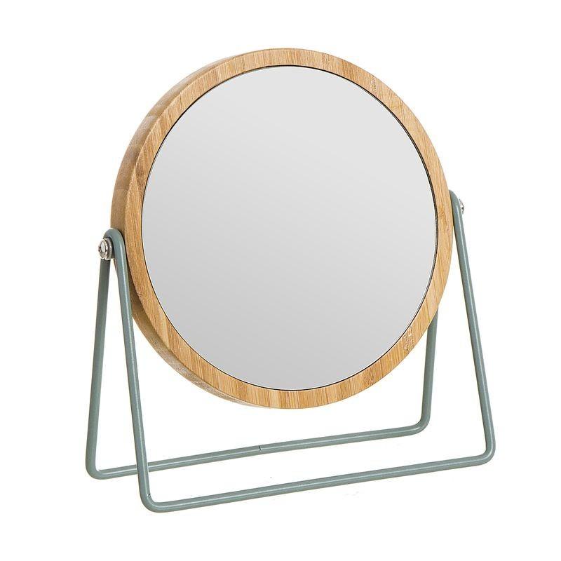 Espejo de Ba–o 5 aumentos Bambu Verde