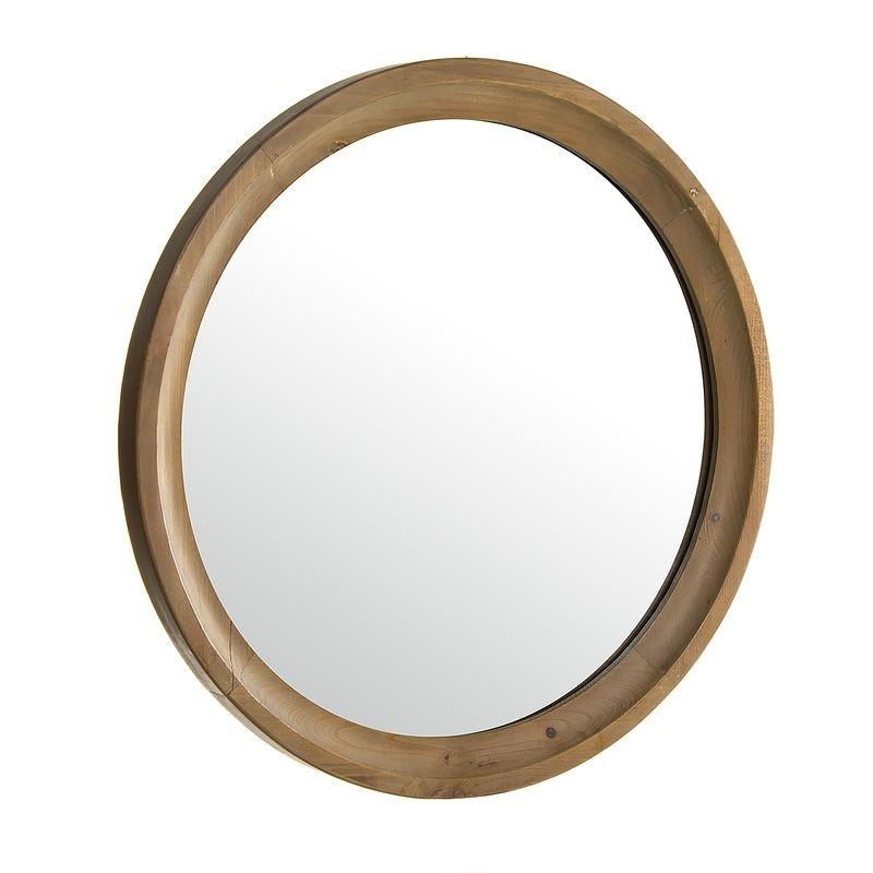 Espejo de Pared Madera 61 cm